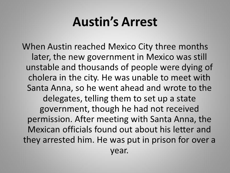 Austin's Arrest