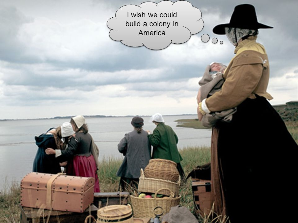 Pilgrims Try to Escape England