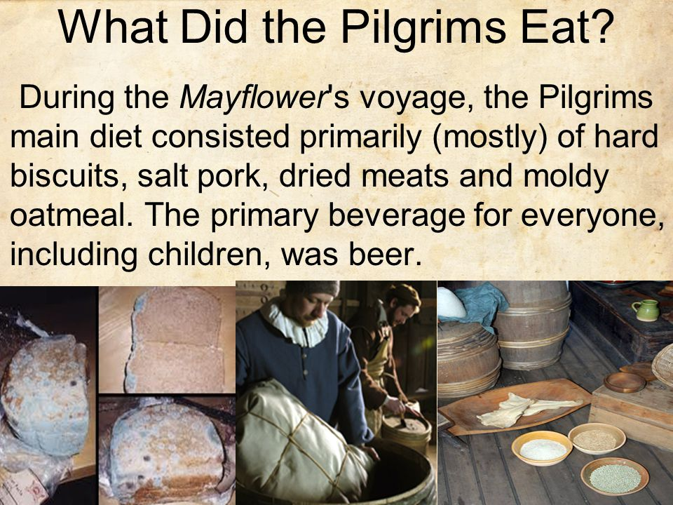 What Did the Pilgrims Eat