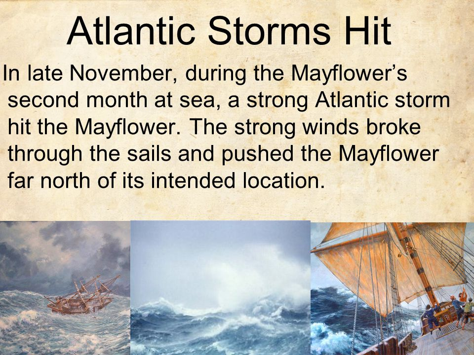 Atlantic Storms Hit