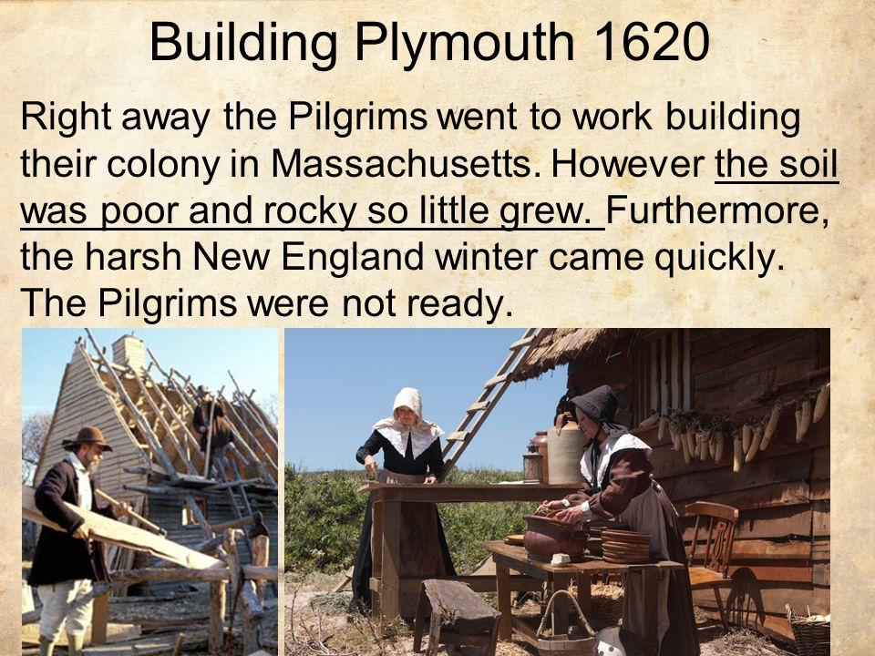 Building Plymouth 1620