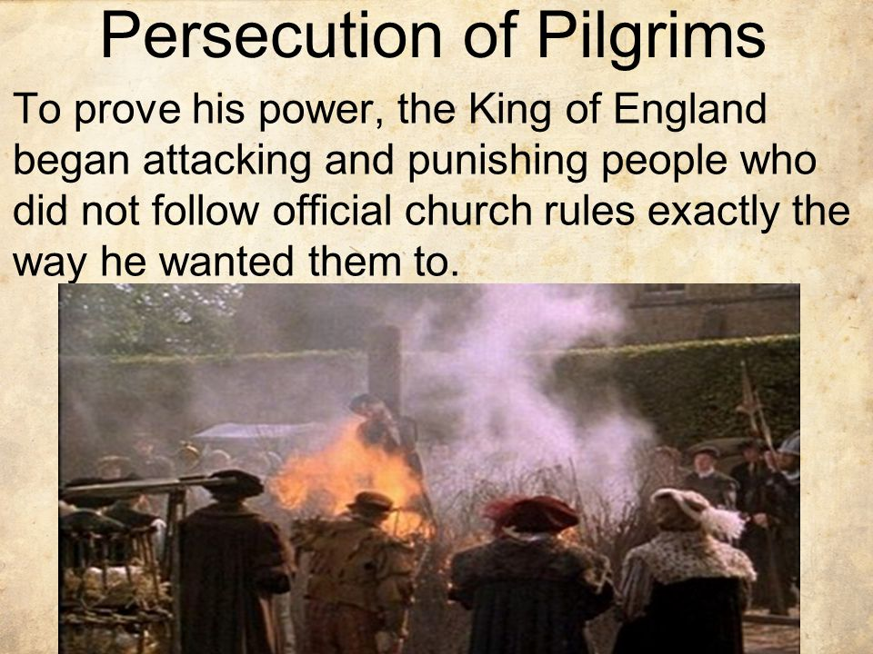 Persecution of Pilgrims