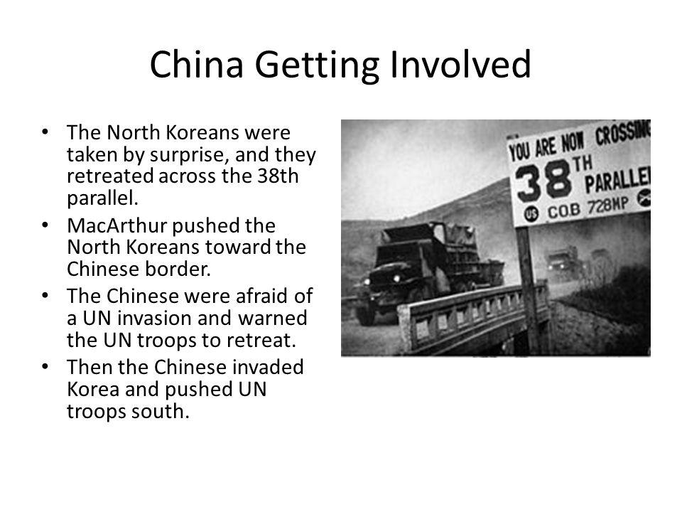 China Getting Involved
