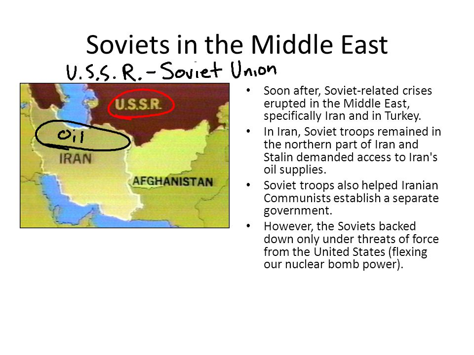 Soviets in the Middle East