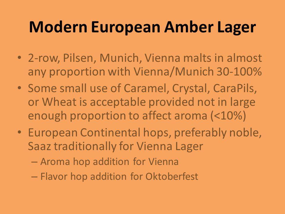 Modern European Amber Lager