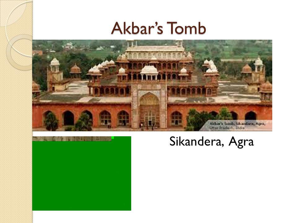 Akbar's Tomb Sikandera, Agra