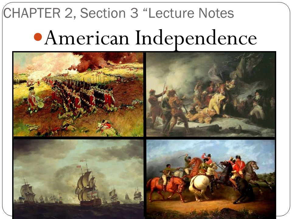 CHAPTER 2, Section 3 Lecture Notes