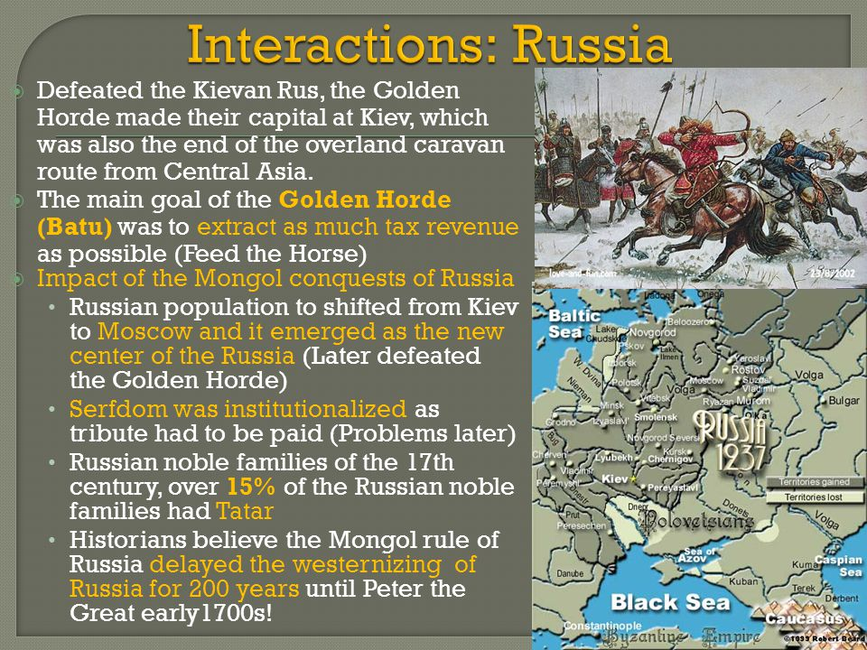 Interactions: Russia
