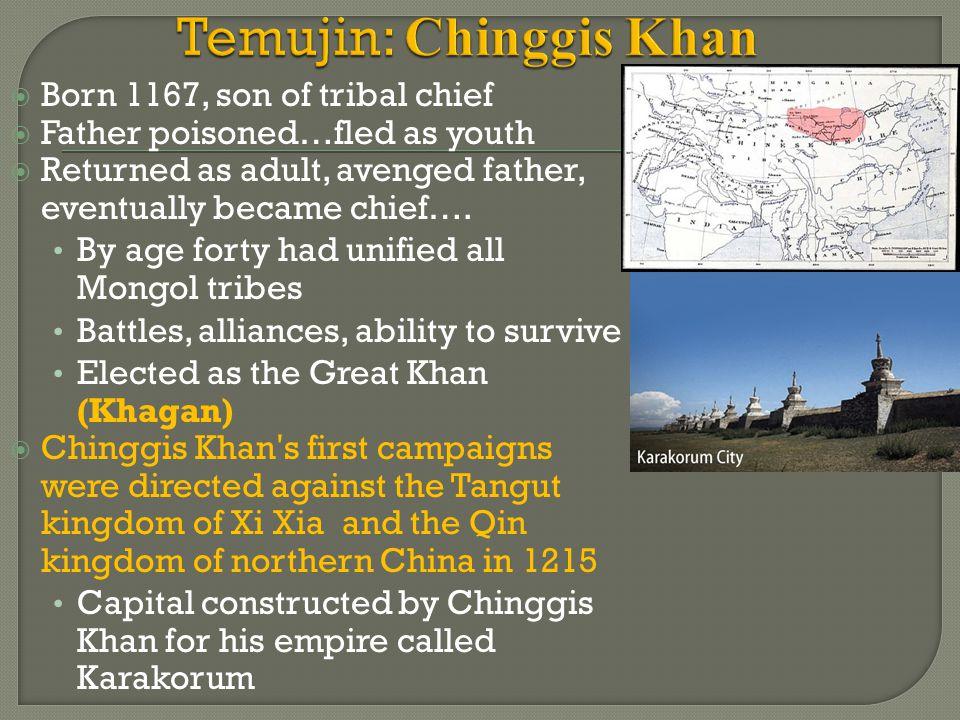 Temujin: Chinggis Khan