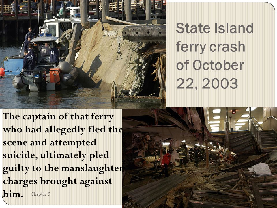 State Island ferry crash of October 22, 2003