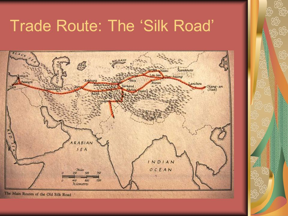 Trade Route: The 'Silk Road'