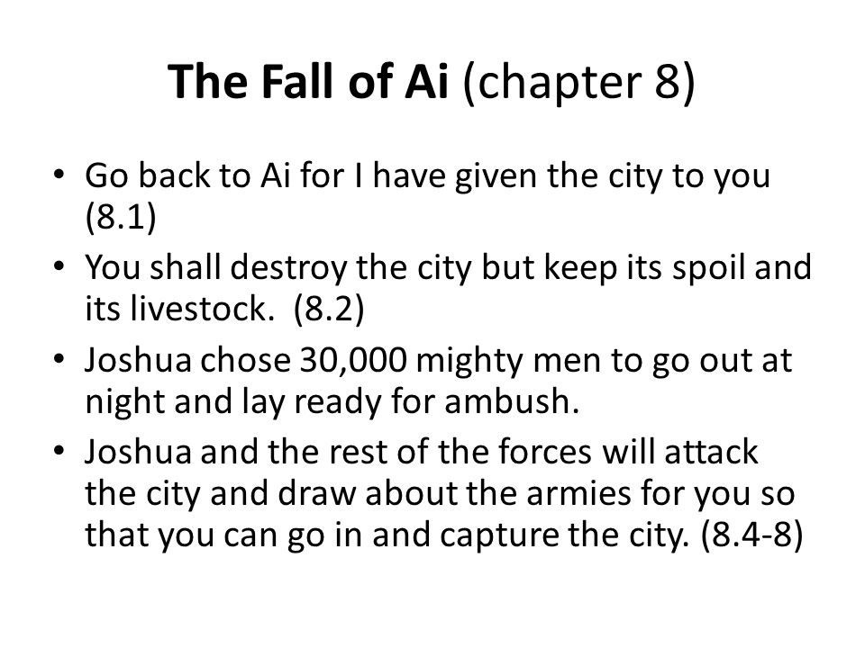 The Fall of Ai (chapter 8)