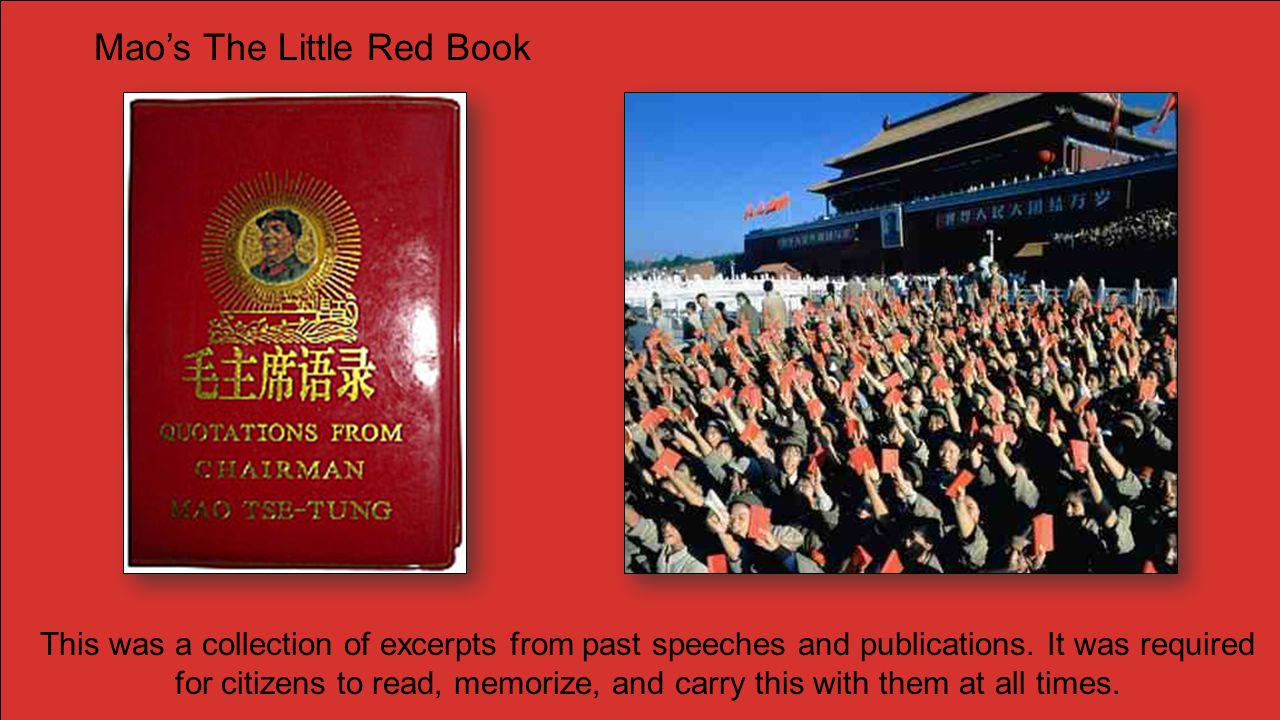 Mao's The Little Red Book