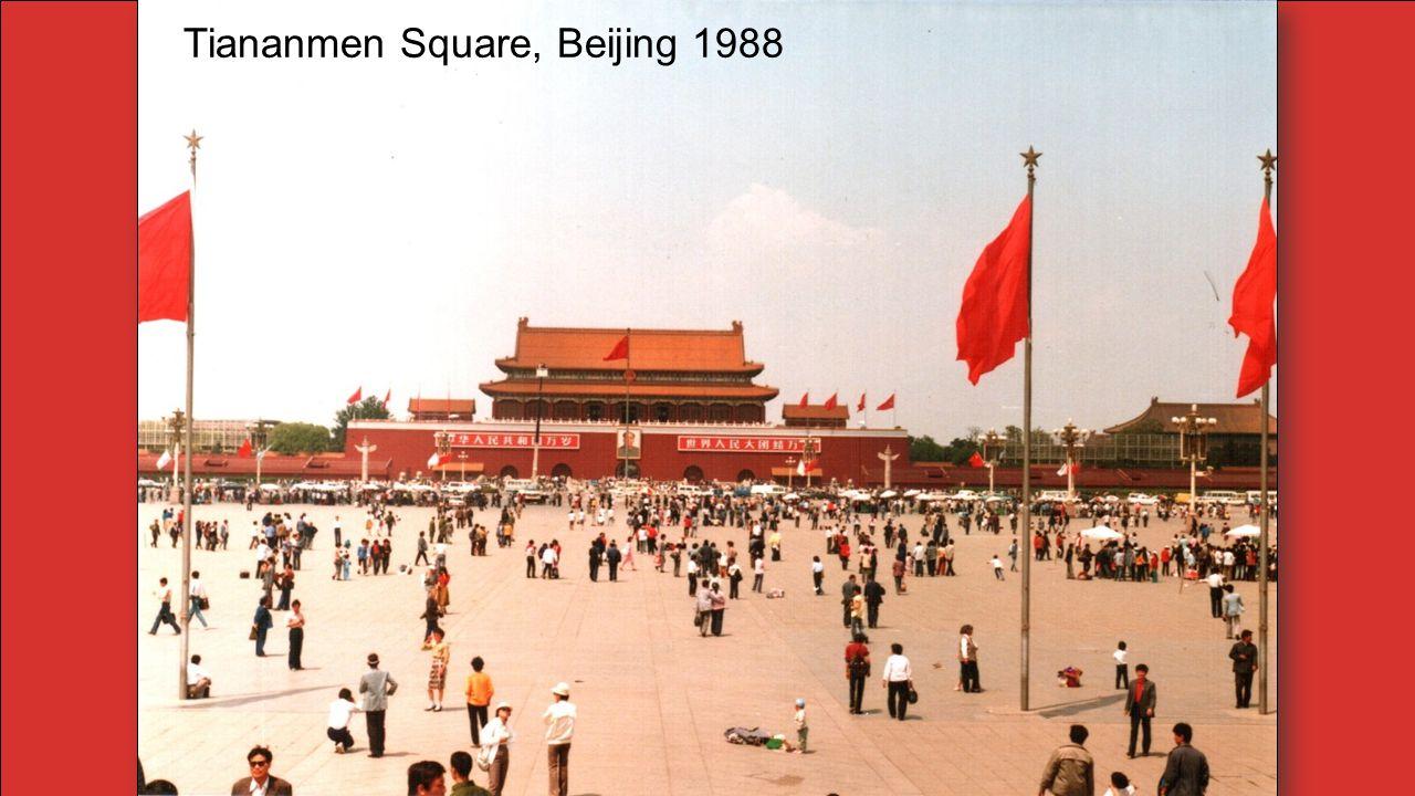 Tiananmen Square, Beijing 1988