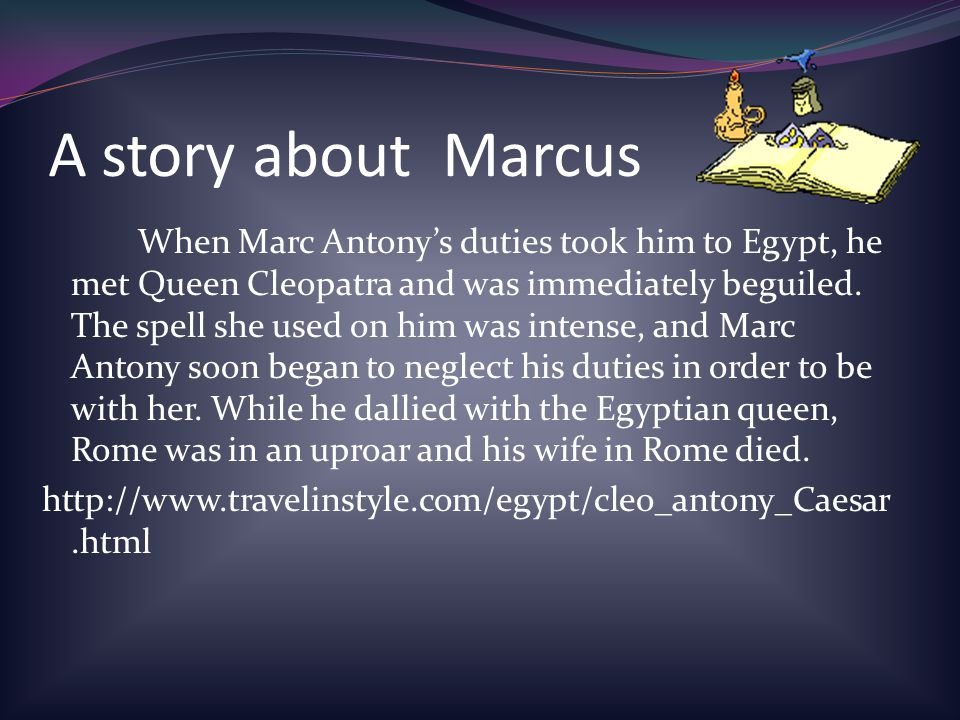 A story about Marcus