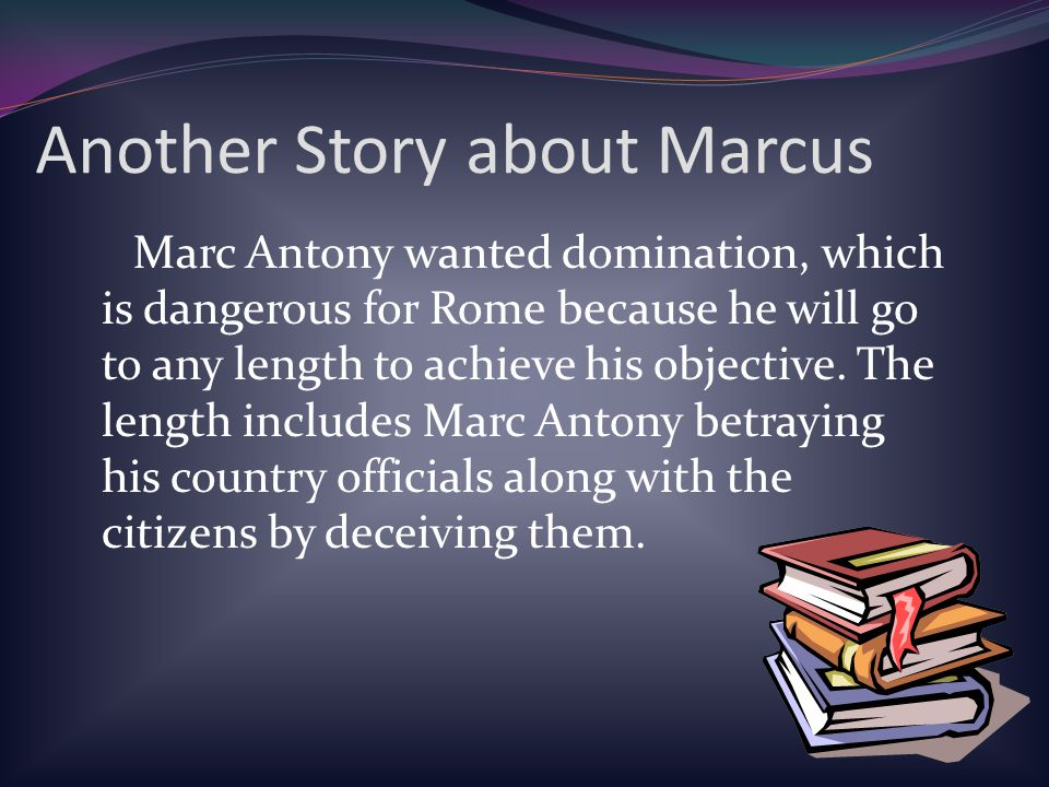 Another Story about Marcus
