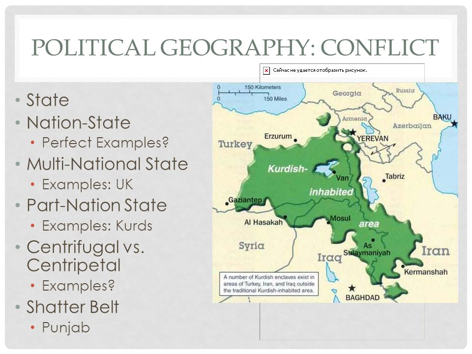 Political geography: Conflict