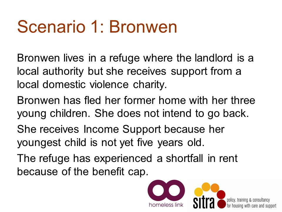 Scenario 1: Bronwen