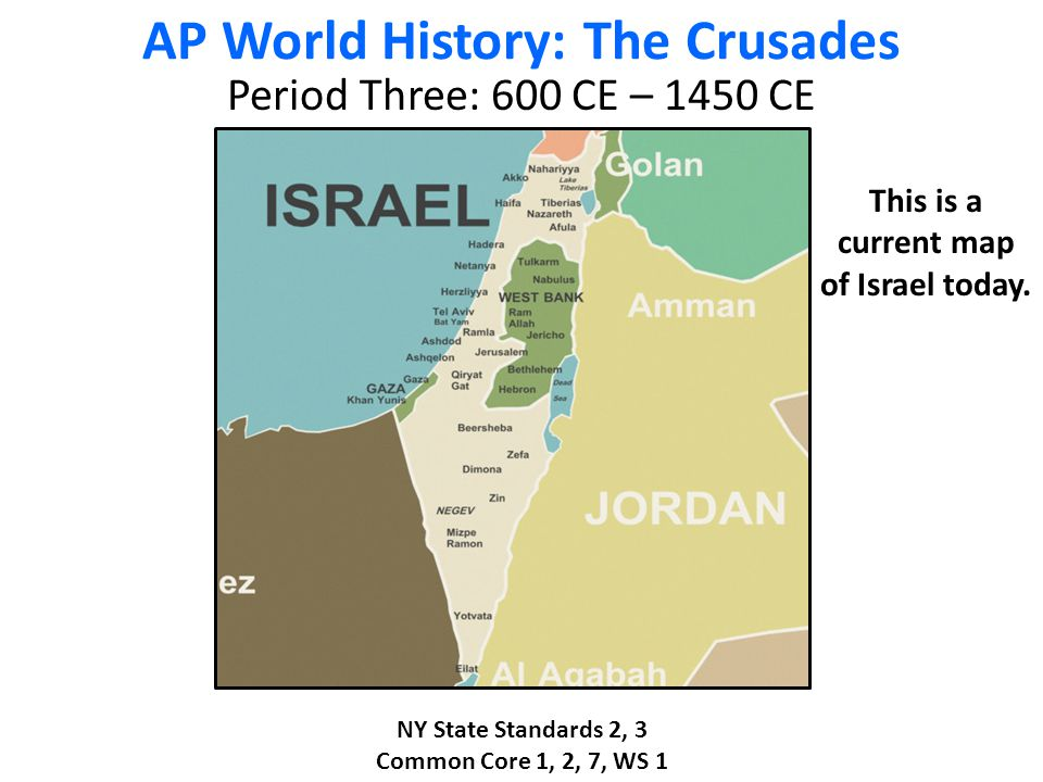 AP World History: The Crusades