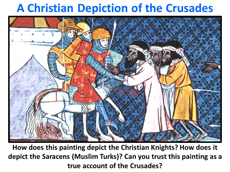 A Christian Depiction of the Crusades