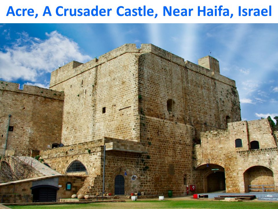 Acre, A Crusader Castle, Near Haifa, Israel