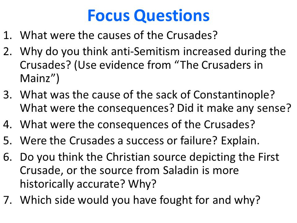 caused first crusade and success Best answer: the first crusade was considered a success because it enabled the west to establish a power base in jerusalem for the first time since the fall of.