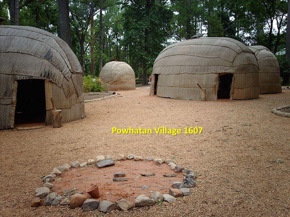 Powhatan Village 1607