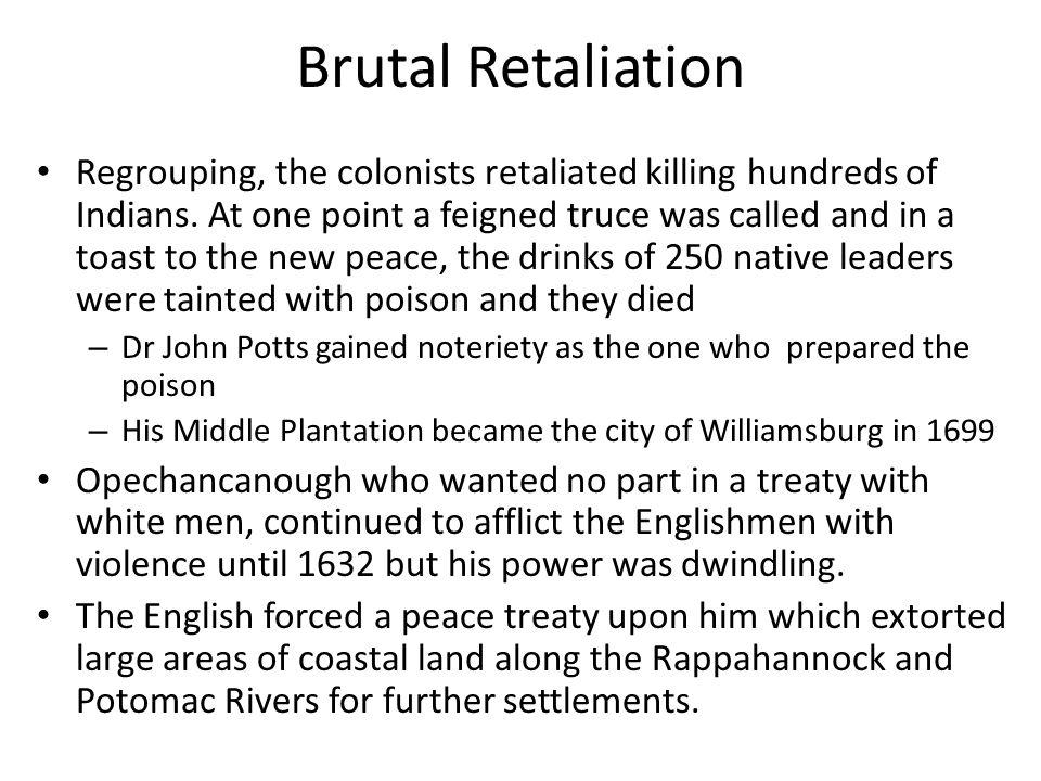 Brutal Retaliation