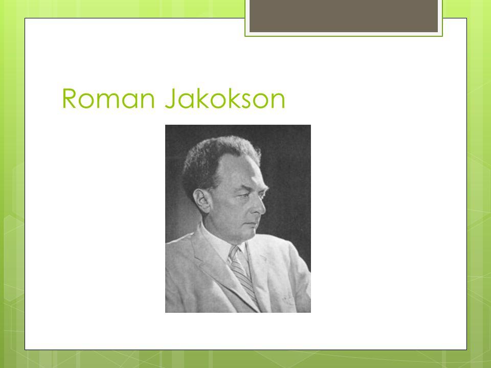 Roman Jakokson