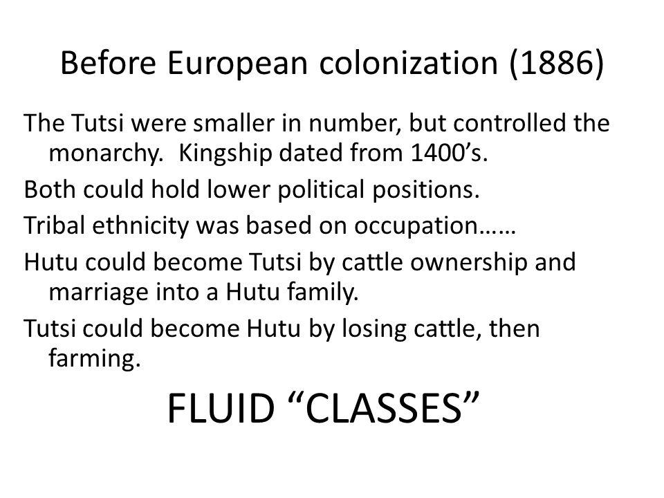 Before European colonization (1886)