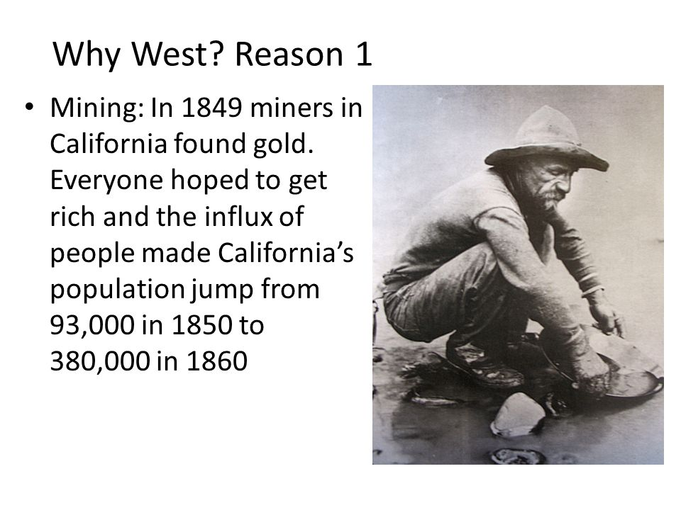 Why West Reason 1