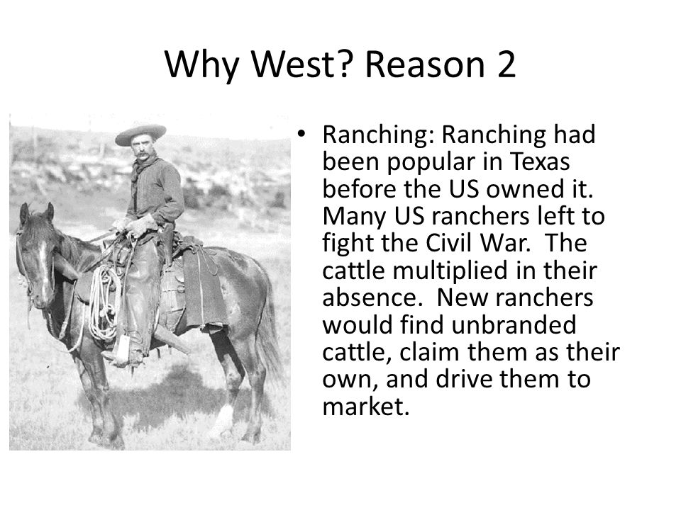 Why West Reason 2