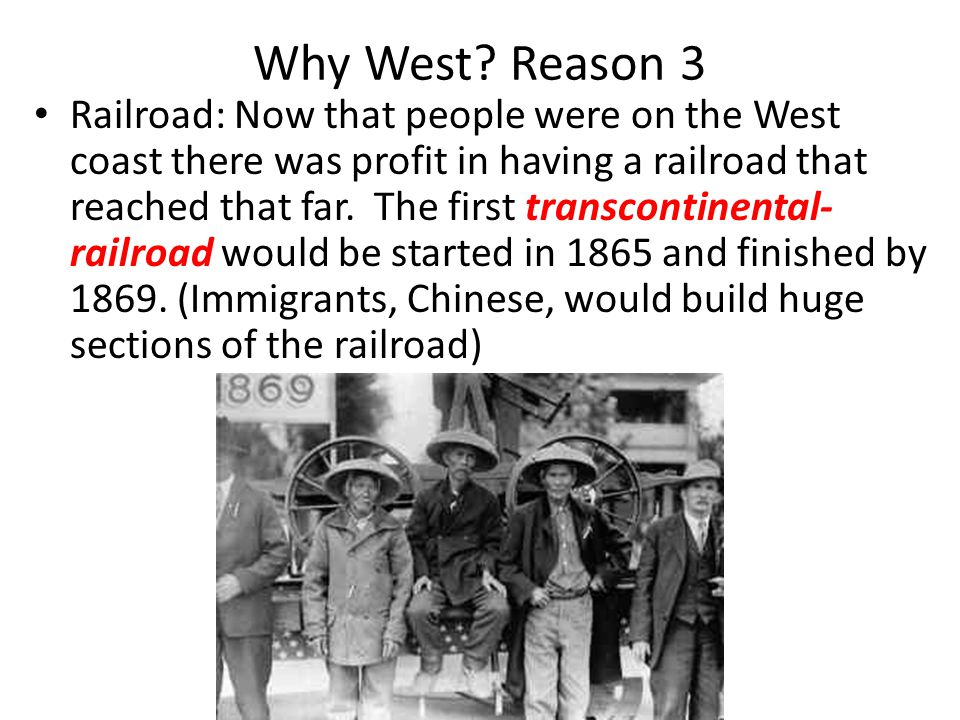 Why West Reason 3