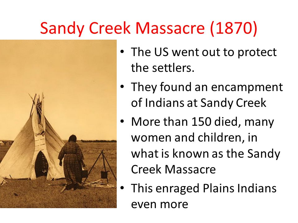 Sandy Creek Massacre (1870)