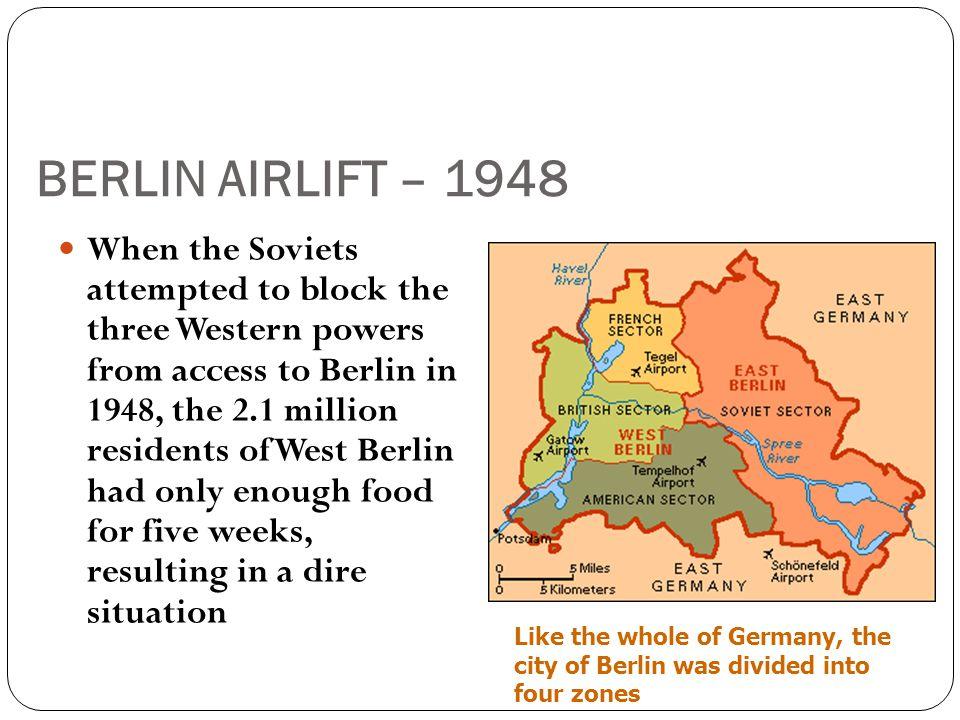 BERLIN AIRLIFT – 1948