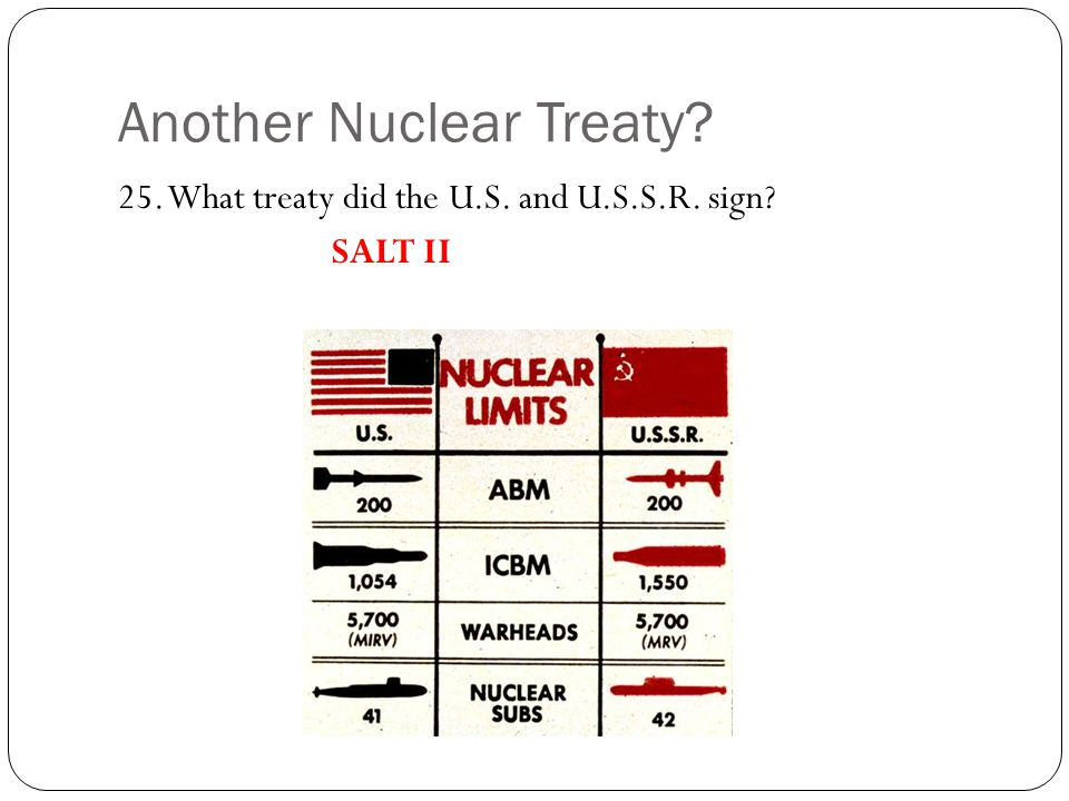 Another Nuclear Treaty