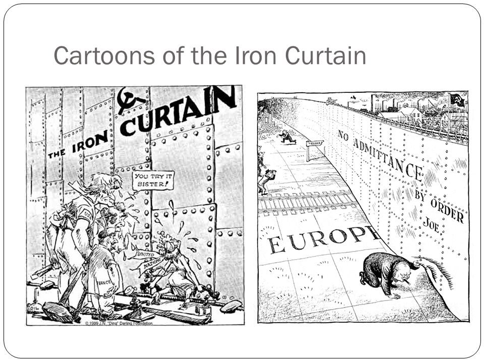 Cartoons of the Iron Curtain