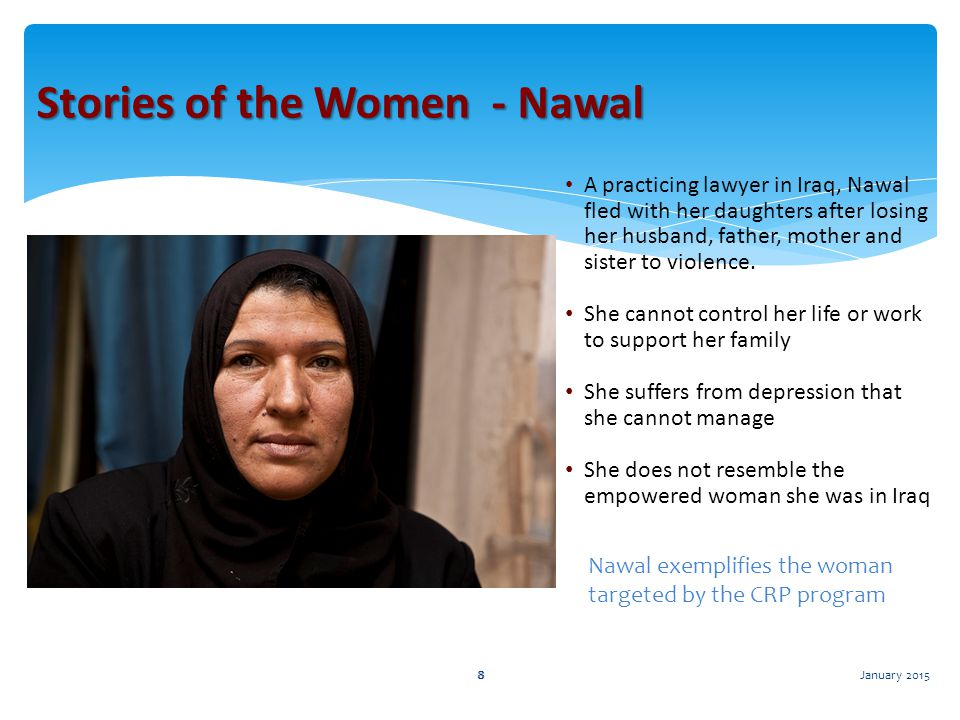 Stories of the Women - Nawal