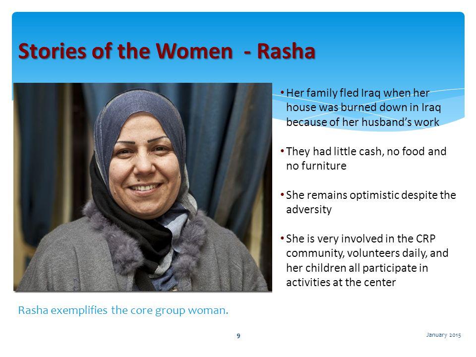 Stories of the Women - Rasha