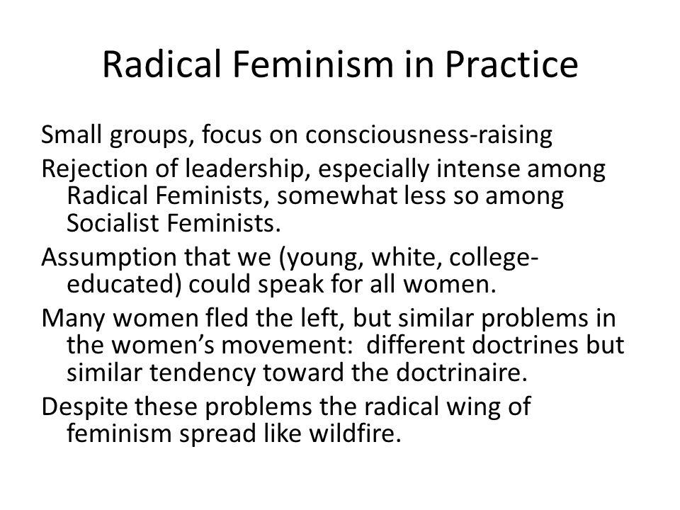 Radical Feminism in Practice