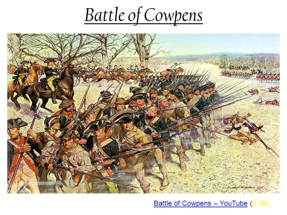 Battle of Cowpens Battle of Cowpens – YouTube (2:18)