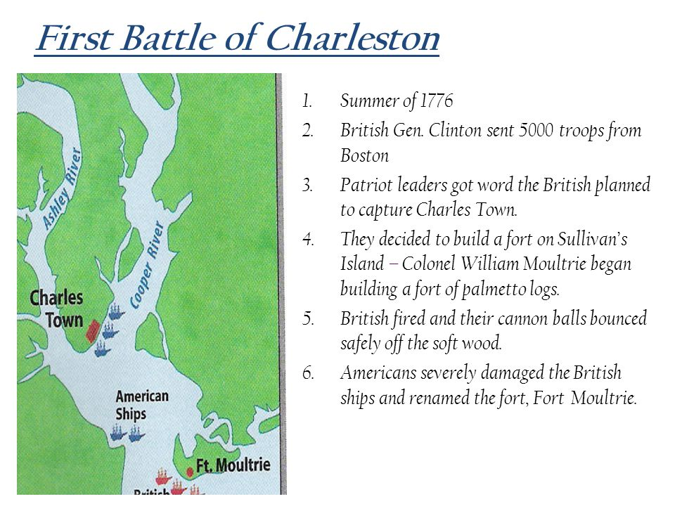 First Battle of Charleston