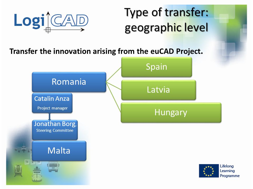 Type of transfer: geographic level