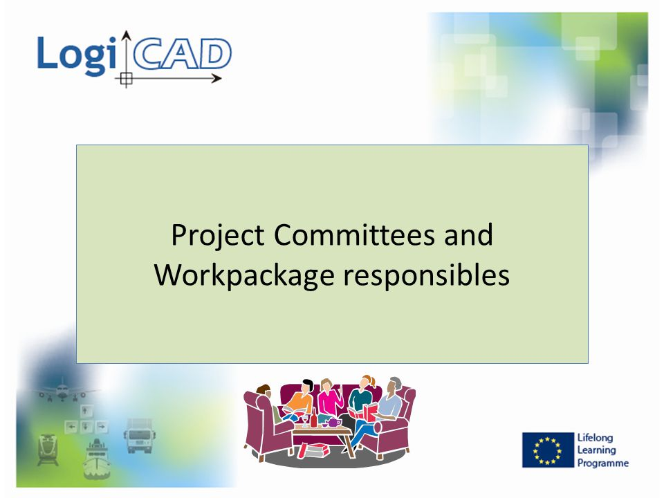 Project Committees and Workpackage responsibles