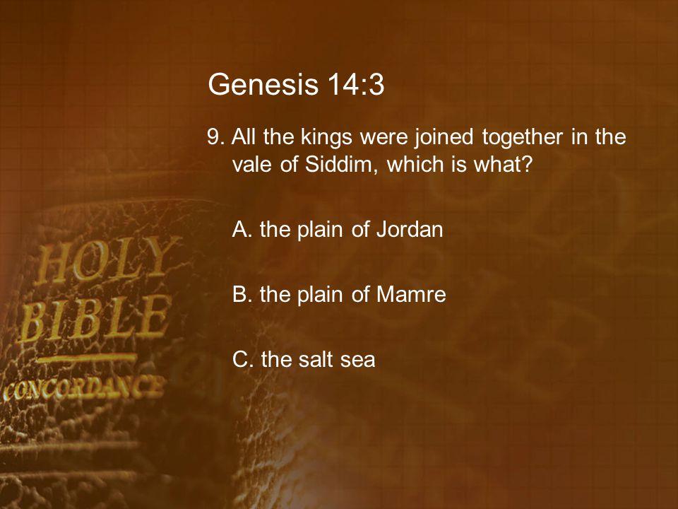 Genesis 14:3