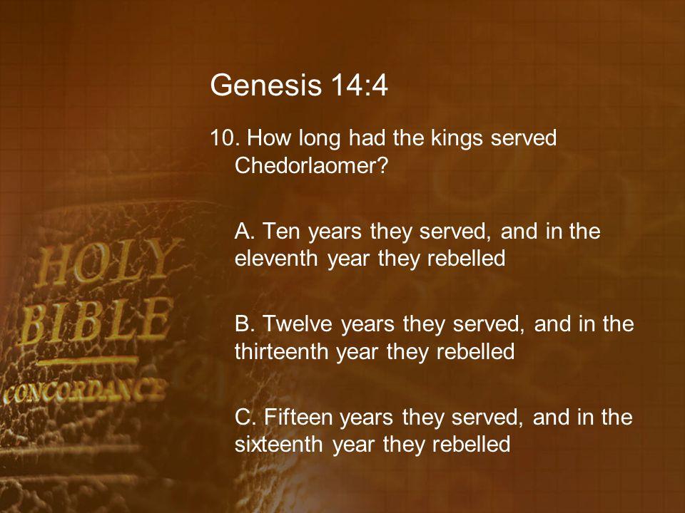 Genesis 14:4