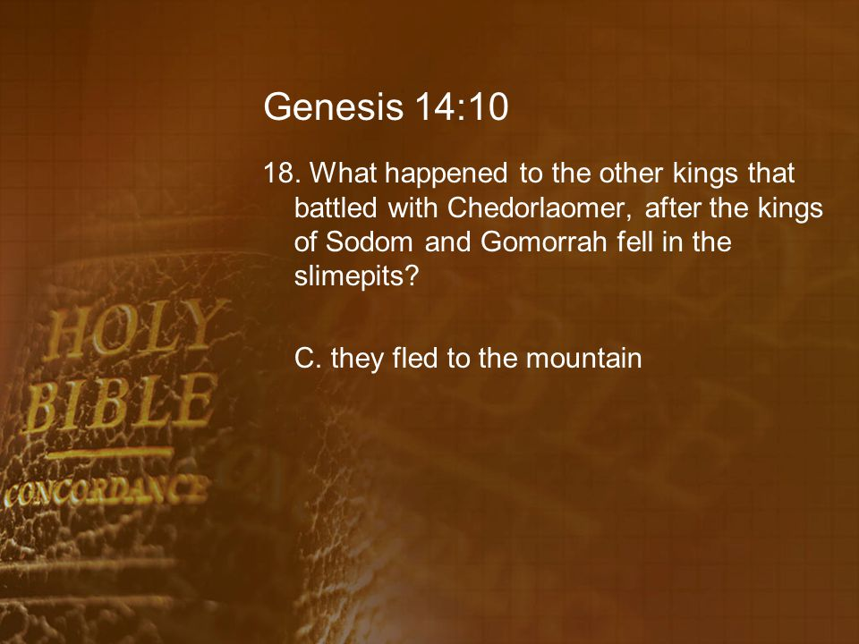 Genesis 14:10