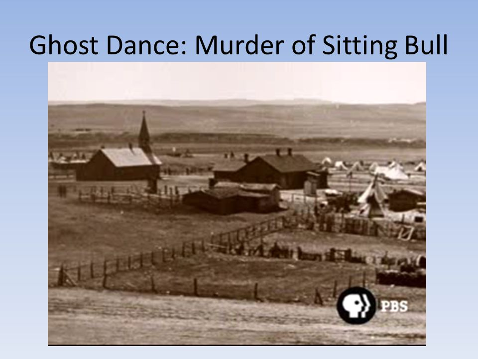 Ghost Dance: Murder of Sitting Bull