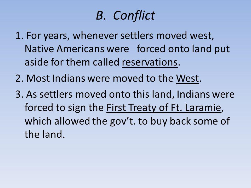 B. Conflict