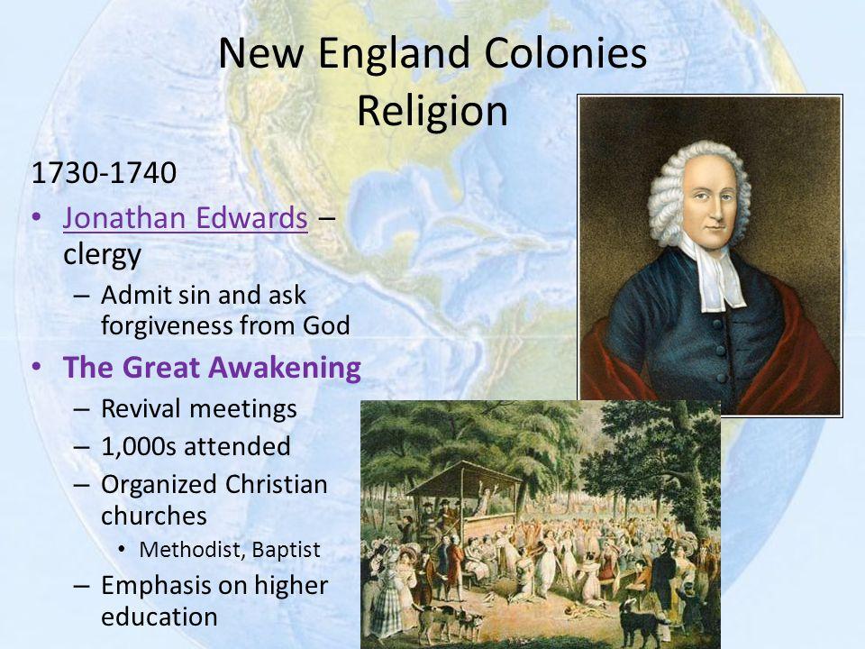 New England Colonies Religion